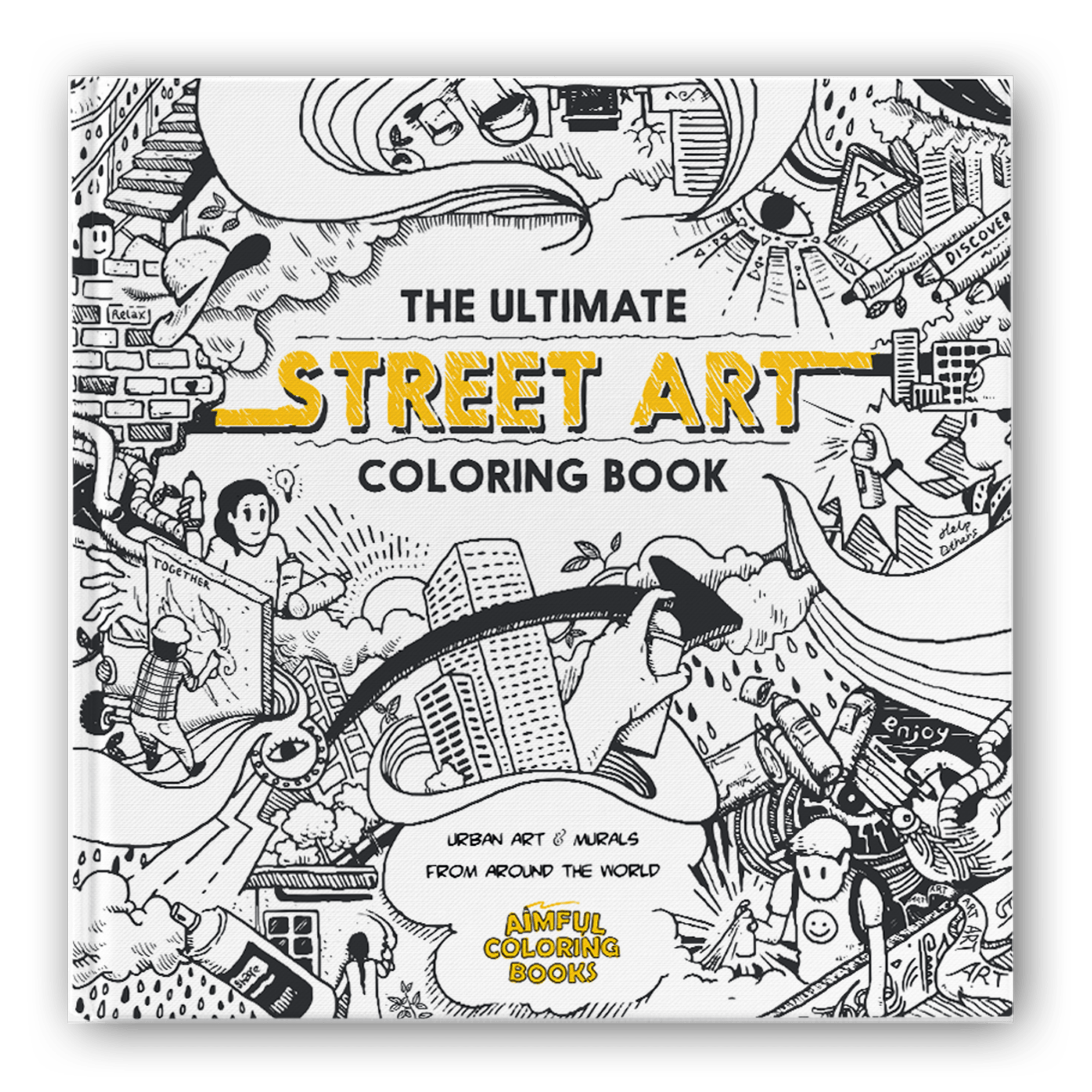 - The Ultimate Street Art Coloring Book